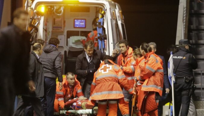 Atletico Fernando Torres, ambulance