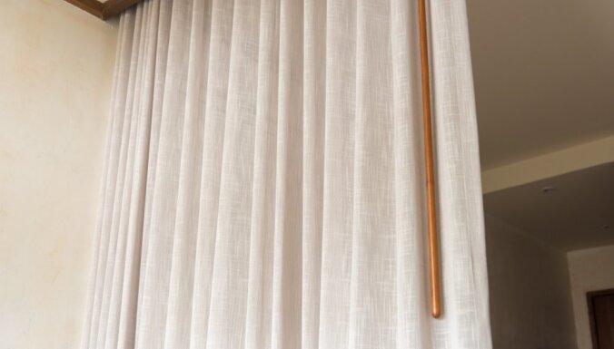 Восемь вариантов дизайна интерьера со шторами вместо дверей