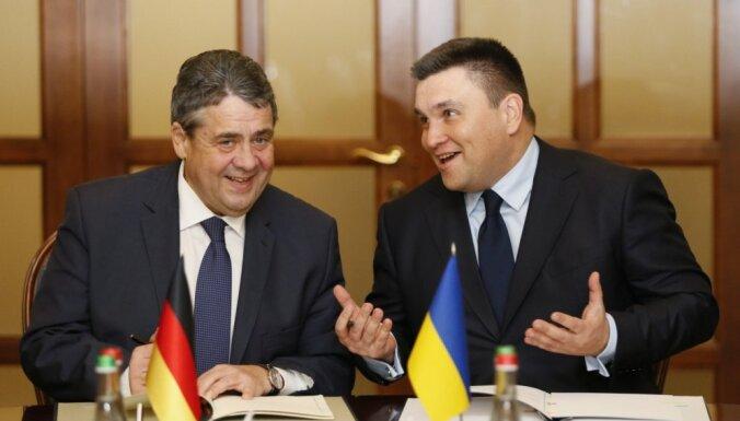 Vācija aicina vienoties par ANO miera misiju Austrumukrainā pirms Krievijas vēlēšanām