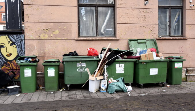 Новые тарифы: для части жителей Риги вывоз мусора может подорожать