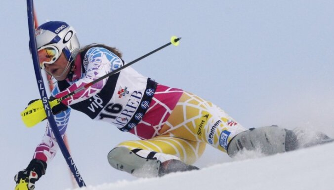 Лучшая горнолыжница мира не справилась с трассой в Шладминге