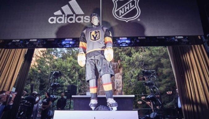 Jaunā NHL komanda 'Golden Knights' prezentē savas formas