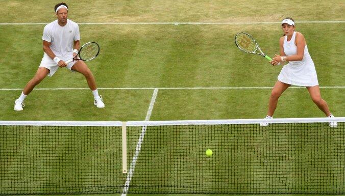 Остапенко и Линдстедт прошли в четвертьфинал Уимблдона