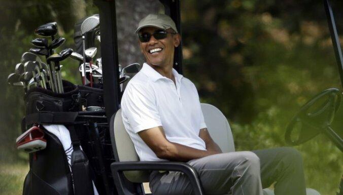 ФОТО: Как Барак Обама проводит отпуск в уединенном поместье