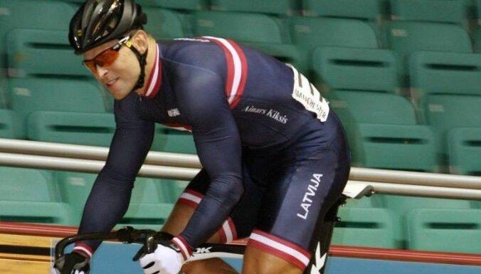 Ķiksis labo pasaules rekordu riteņbraukšanā trekā 200 metros gaitā