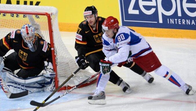 Pasaules hokeja čempionāts. Desmitā spēļu diena (teksta tiešraides arhīvs)