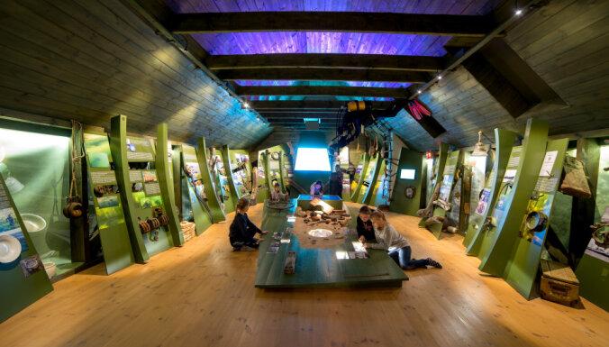 Ekspozīcijā 'Vētru muzejs' iespējams iepazīt zemūdens pasauli un no jūras izceltas senlietas