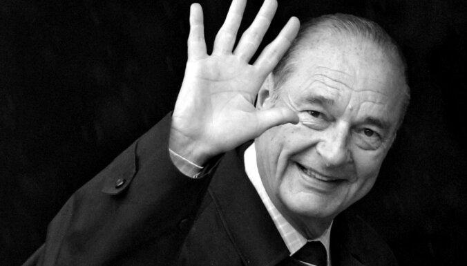 Miris Francijas eksprezidents Žaks Širaks