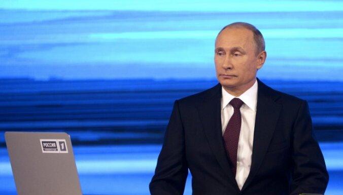 Путин: Россия поможет юго-востоку Украины самоопределиться