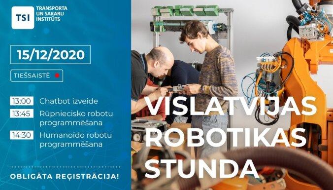 TSI aicina uz Vislatvijas robotikas stundu. Ieraksts.