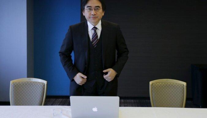 55 gadu vecumā miris Japānas videospēļu kompānijas 'Nintendo' vadītājs