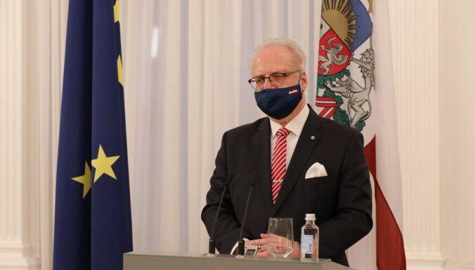 Levits otro 'AstraZeneca' vakcīnas devu saņems 30. aprīlī