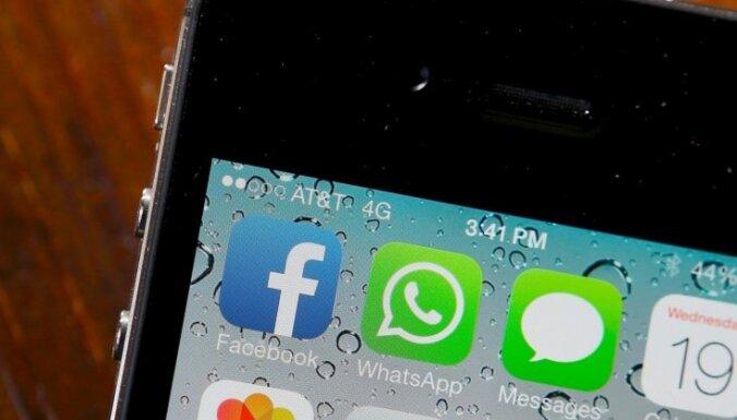 'Facebook' 19 miljardu dolāru darījums: soctīklu gigants nopērk 'WhatsApp'