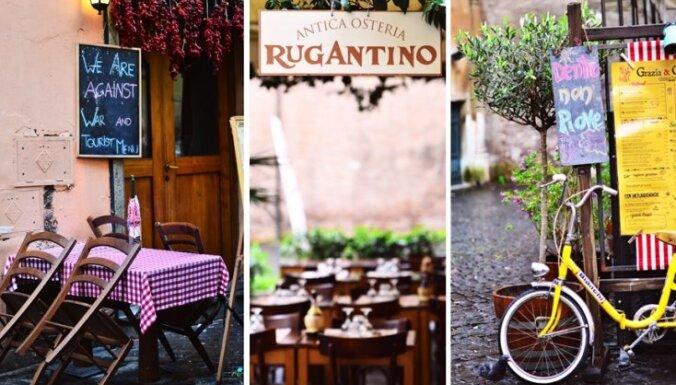 Ceļojums uz Romu. Netūristiski tūristi