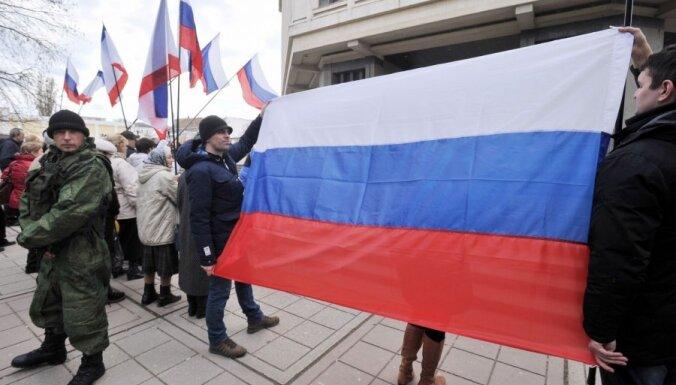 Televīzijas kanāls: Baltkrievija un Kazahstāna atsakās sūtīt vēlēšanu novērotājus uz Krimu