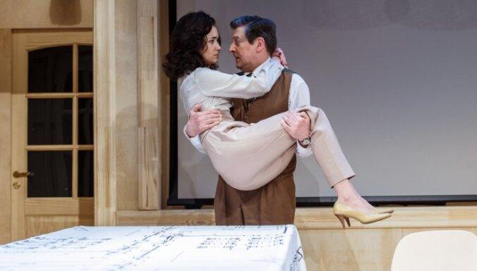 Foto: Valmieras teātrī pirmizrādi piedzīvos Vara Braslas iestudējums 'Mīlestības testaments'