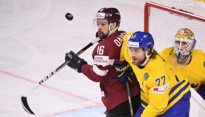 Хоккеисты сборной Латвии о матче со шведами