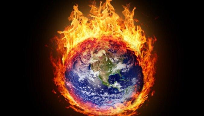 Температура Земли достигла самого высокого уровня за три миллиона лет