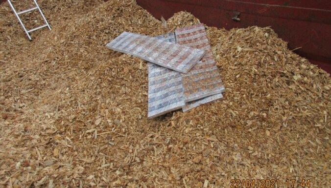 ФОТО. Таможенники конфисковали 616 000 контрабандных сигарет