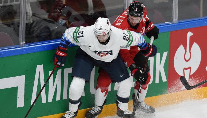 На ЧМ по хоккею в Риге рекламируется запрещенный в Латвии тотализатор
