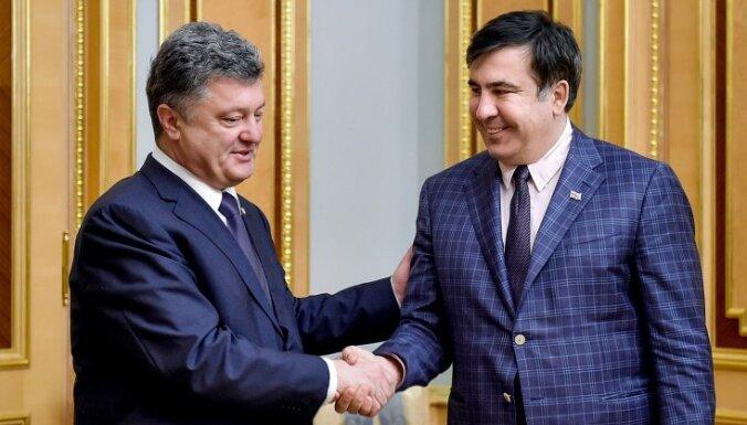 Саакашвили в открытом письме призвал Порошенко уйти в отставку