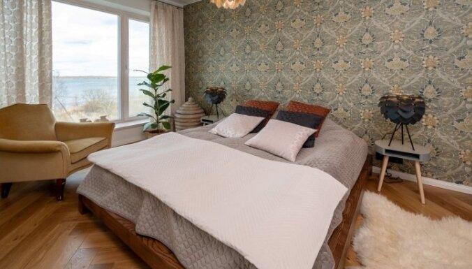 ФОТО. С видом на море: модная квартира в Таллине с роскошным интерьером