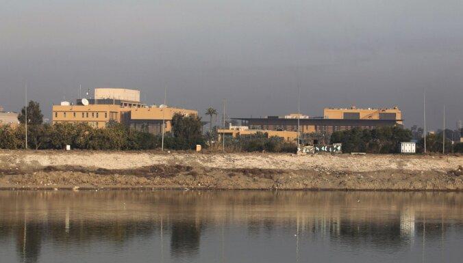 Medijs: ASV plānojot slēgt vēstniecību Bagdādē