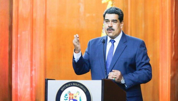 Maduro pieprasa ES vēstniecei pamest Venecuēlu