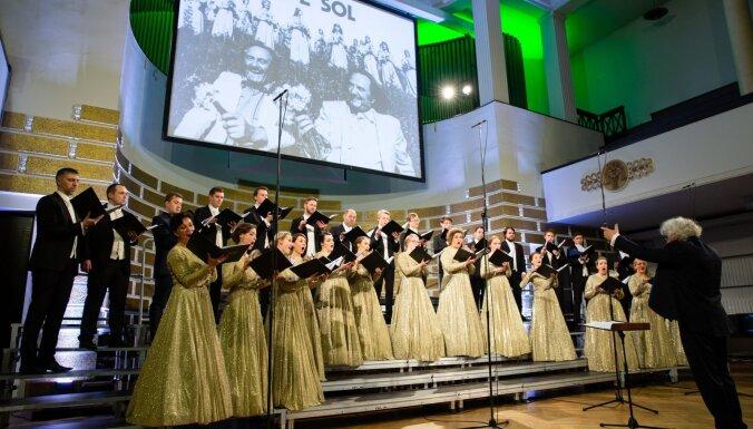 Kamerkoris 'Ave Sol' 50. jubilejas gadu noslēgs ar koncertu Lielajā aulā