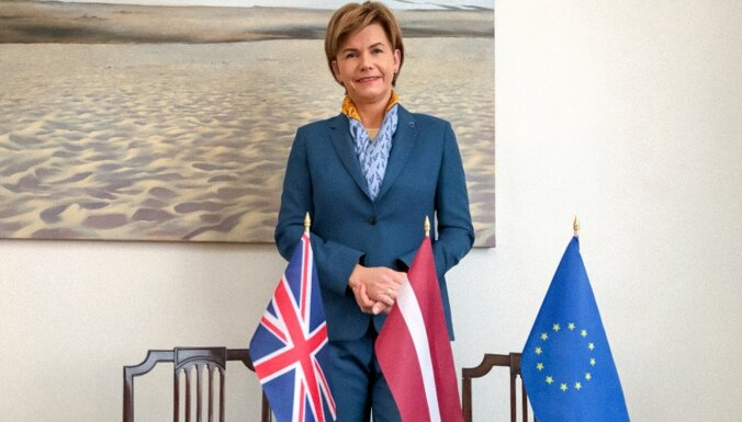 Braže pēc kļūšanas par NATO ģenerālsekretāra vietnieci beigs pildīt vēstnieces pienākumus Lielbritānijā