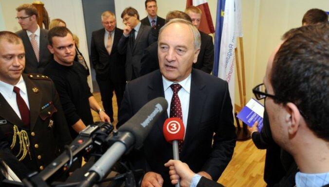 Эдвин Шноре. Президент ЛССР