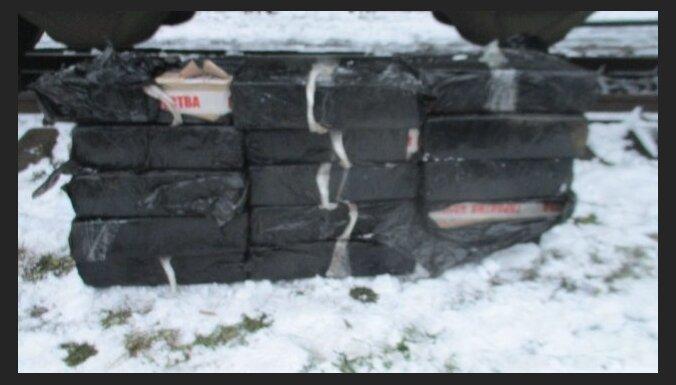 ФОТО. На границе снова изъяли контрабандные товары