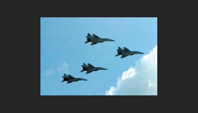 Gruzija slēdz gaisa telpu Krievijas militārajām lidmašīnām