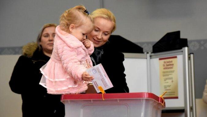 Līdz pulksten 12 Saeimas vēlēšanās nobalsojuši 21,69% vēlētāju (plkst. 13.50)