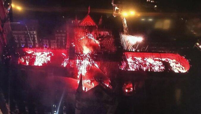 Пожар уничтожил собор Парижской Богоматери. Что известно на данный момент