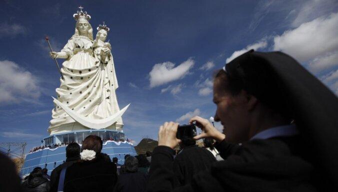 В Боливии возвели гигантскую статую Девы Марии