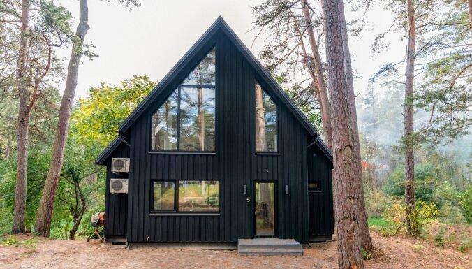 ФОТО: Очаровательный дом мечты в латвийском лесу