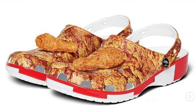 ФОТО. Весной 2020 года в продажу поступит обувь для любителей фастфуда