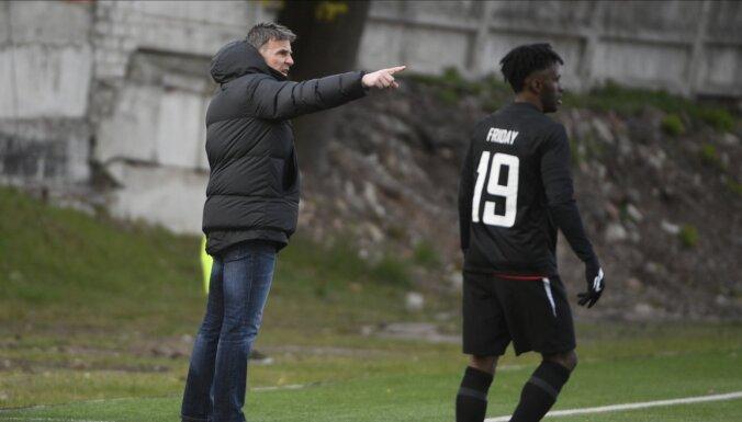 Jūrmalas 'Spartaka' galvenā trenera amatu atstāj polis Zubs