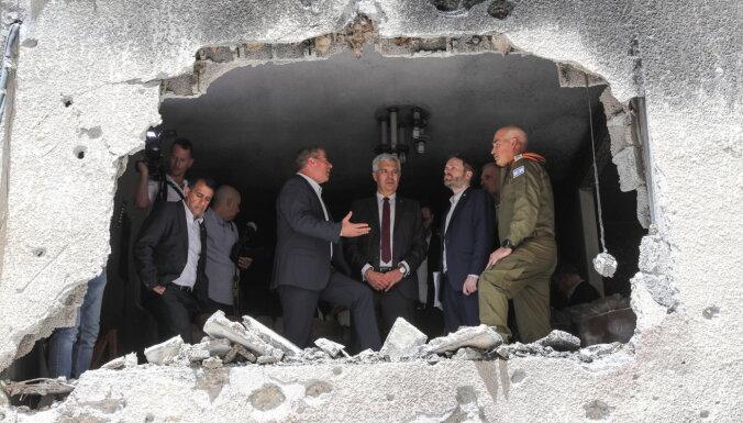 ES 'ārlietu ministrs' izsaka gandarījumu par panākto Gazas pamieru