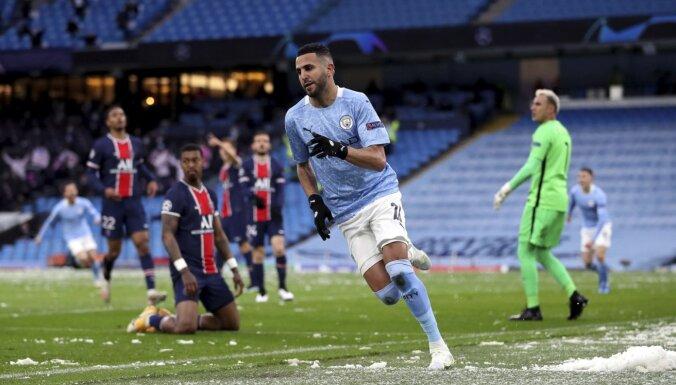 'Manchester City' pirmo reizi vēsturē iekļūst UEFA Čempionu līgas finālā
