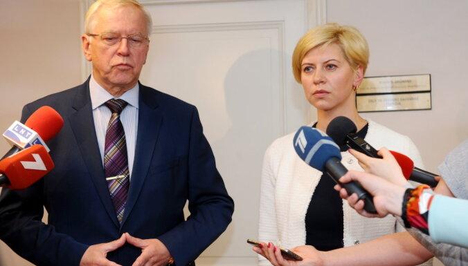 Koalīcija atbalstīs Čakšas kandidatūru veselības ministra amatam