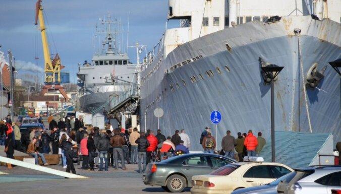 Mācību kuģis 'Afanasijs Ņikitins' dodas pēdējā reisā