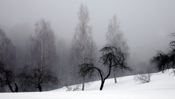 Daugavpils apkaimē aukstums sasniedz -24 grādus