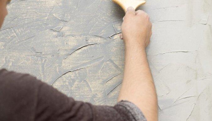 Apzinātā nevīžība – interesanta pieeja sienas apmetumam