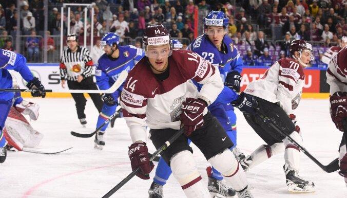 Сегодня на чемпионате мира сборная Латвии сыграет со сборной Италии