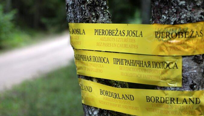 Trešdien novērsts 28 cilvēku mēģinājums nelegāli šķērsot Latvijas – Baltkrievijas robežu