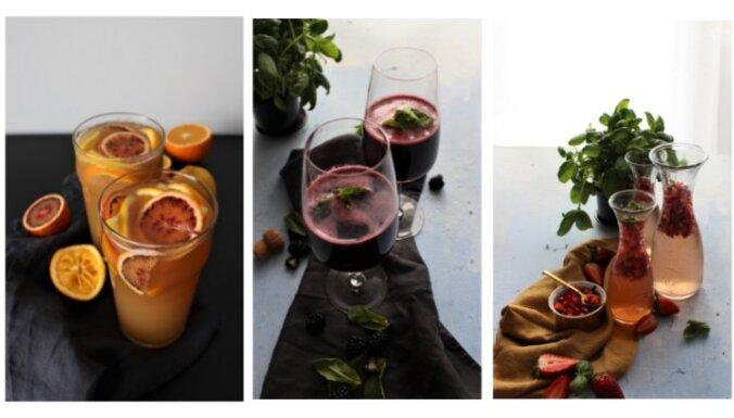 Оригинальные коктейли для весеннего пикника
