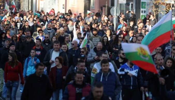 Bulgārijā notiek protesti pret degvielas cenu kāpumu