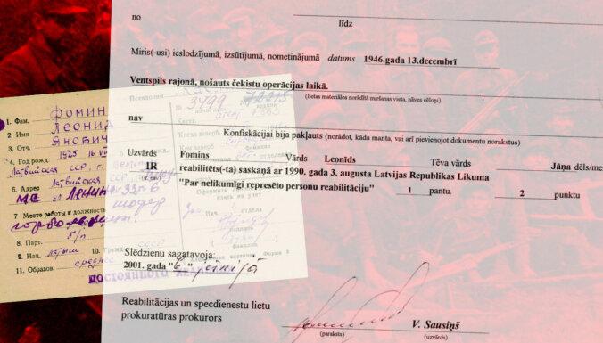 'Delfi' panāk genocīdā pret tautu vainota čekas kaujinieka reabilitācijas atcelšanu